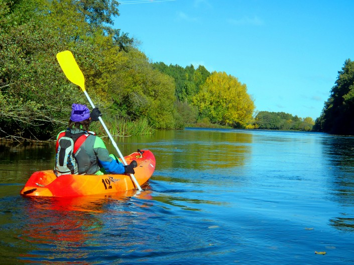 A CANOE RIDE ON THE RIVER TORMES